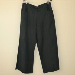 Lane Bryant Linen Blend Capri Pants 18